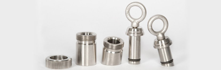 HOLLOWAY offers stainless steel plugs and cnc machine parts, including mounting adapters.