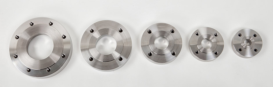 HOLLOWAY fabricates stainless steel pad flanges including raised face flanges.