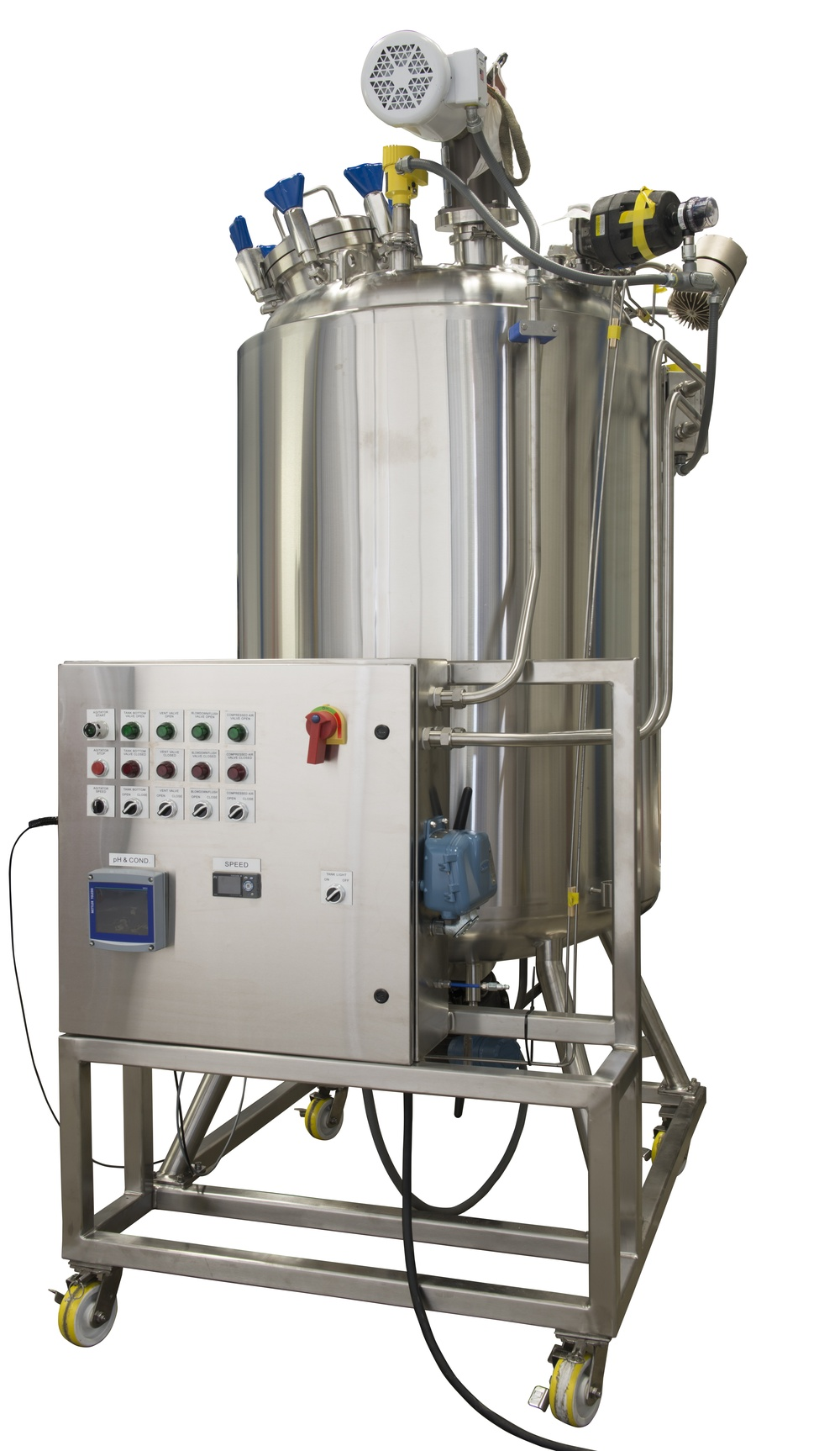 HOLLOWAY proudly produces pharmaceutical stainless steel solutions like this smart tank innovation.
