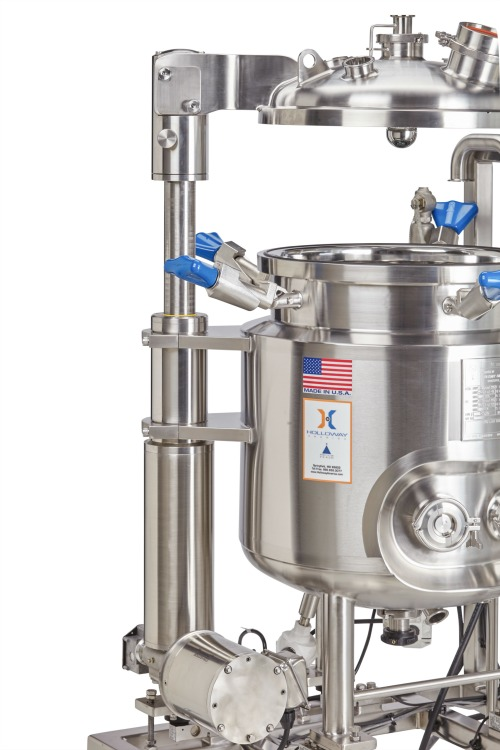 The Revolution Lift™ surpasses industry standards for stainless steel vessel lift technology.
