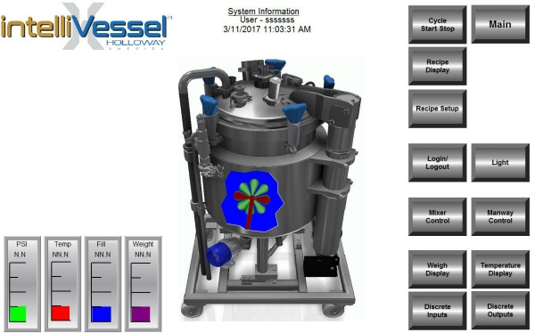 The intelliVessel™ is a new stainless steel tank design by HOLLOWAY AMERICA.