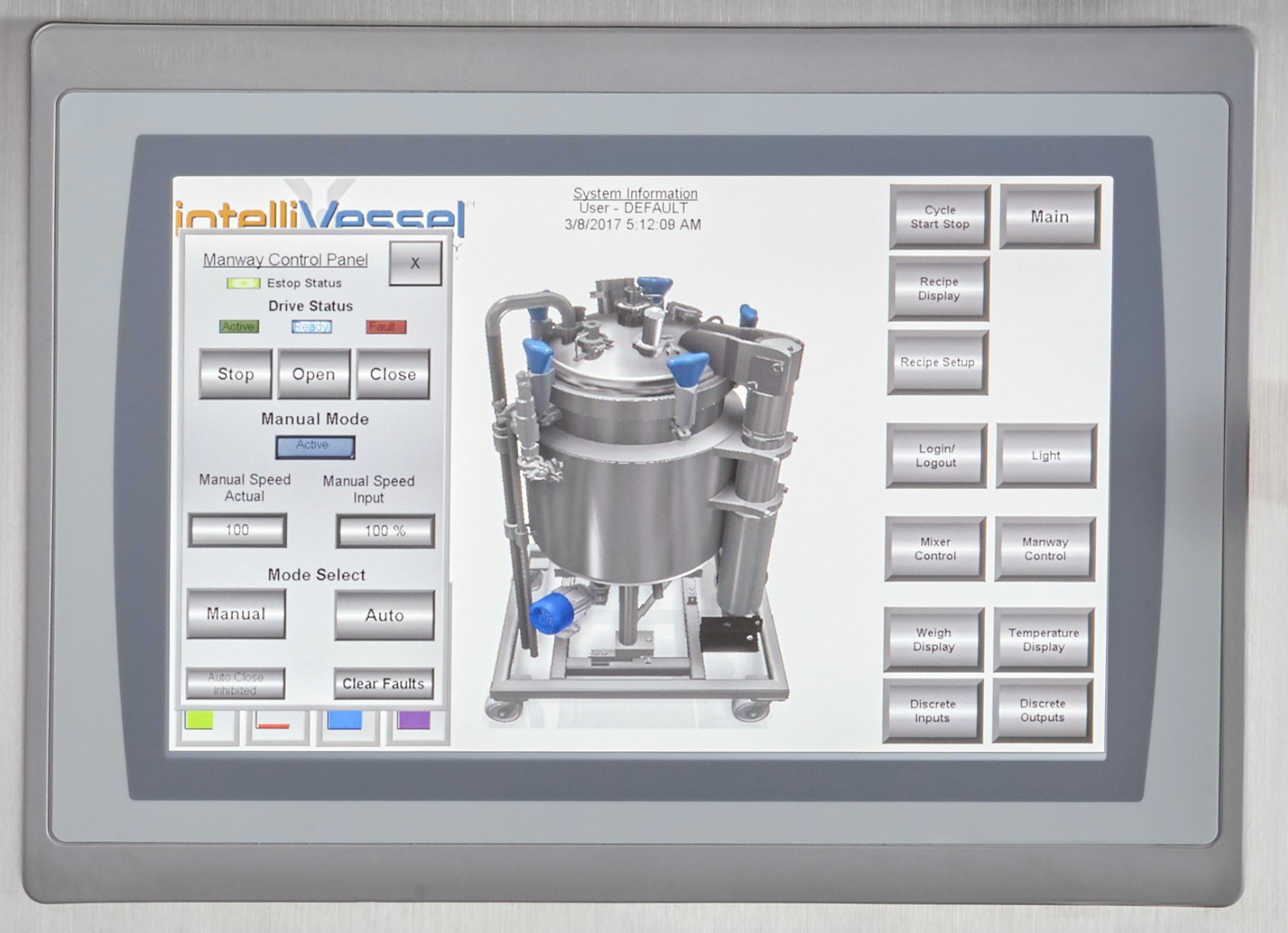 HOLLOWAY's stainless steel tank design for The intelliVessel™ is a first for smart tank technology.