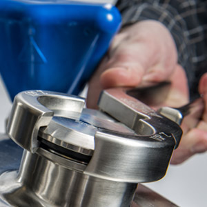 Stainless steel pressure vessels, ASME tanks, and tank components are at less risk with Seal Break Pliers.