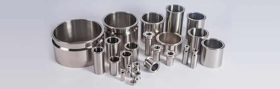 HOLLOWAY's stainless steel ferrules meet ASME BPE standards.