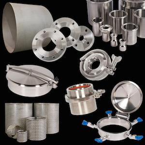 See our tank components for stainless steel pressure vessels and ASME tanks.