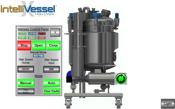 HOLLOWAY, a leader in stainless steel tank design, recently released the intelliVessel™.