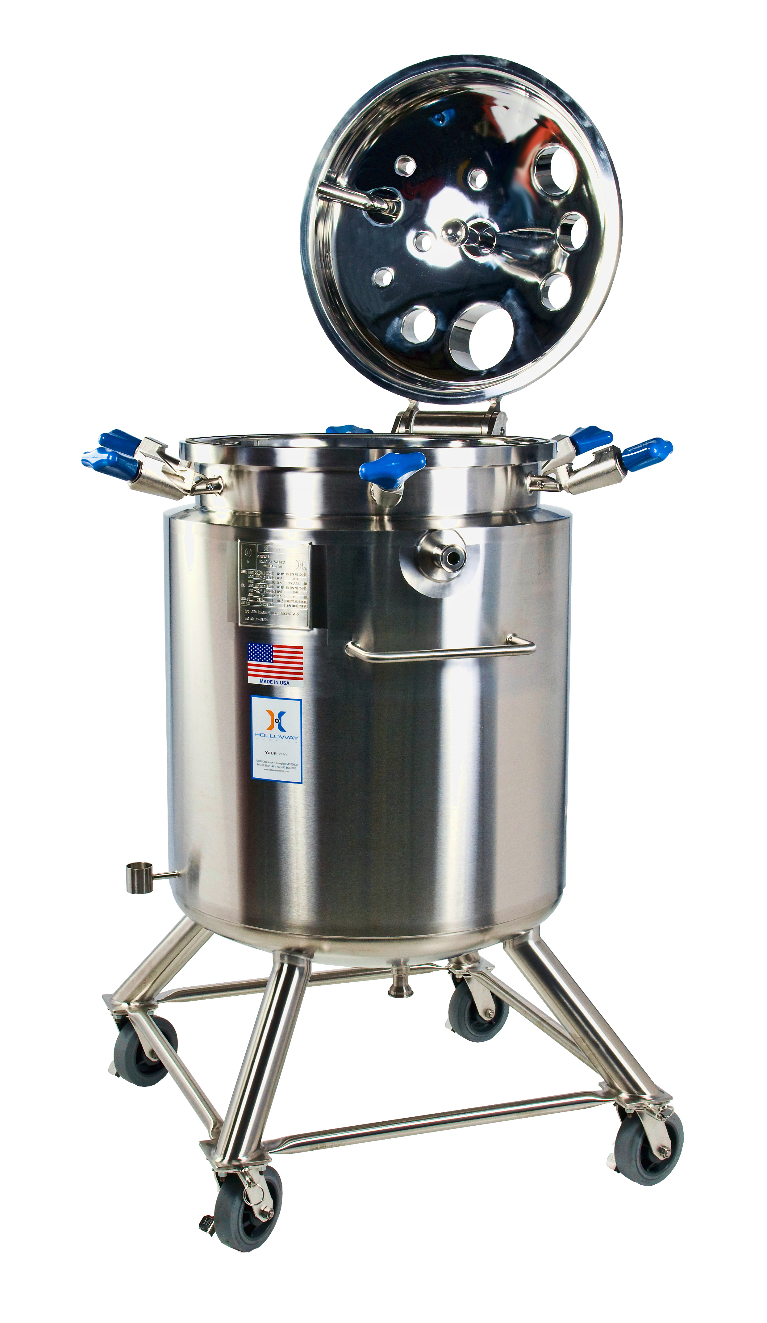 An ASME mixer tank meets stainless steel ASME code for ASME pressure vessels.