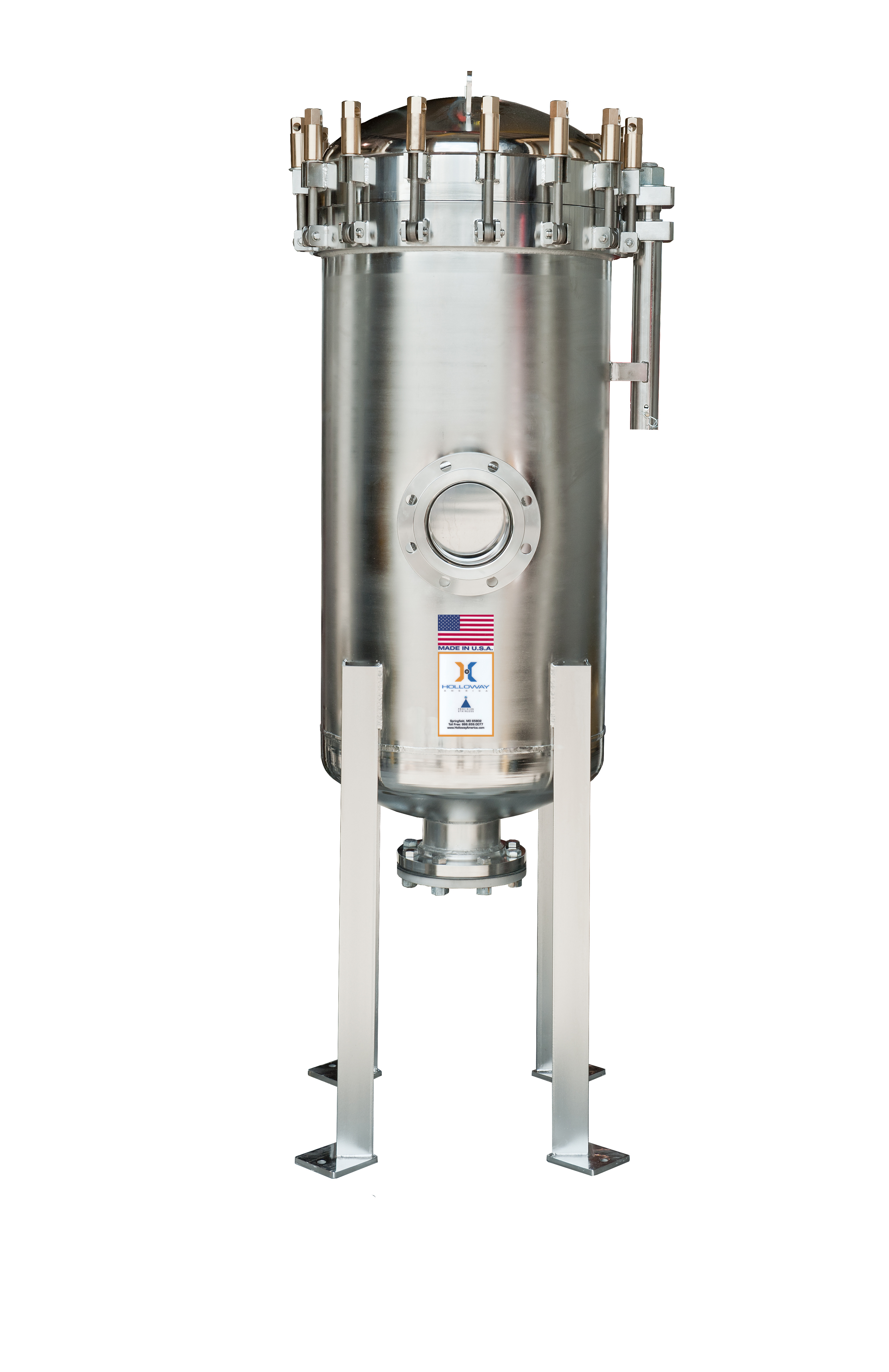 This is a fine ASME pressure vessel by HOLLOWAY.
