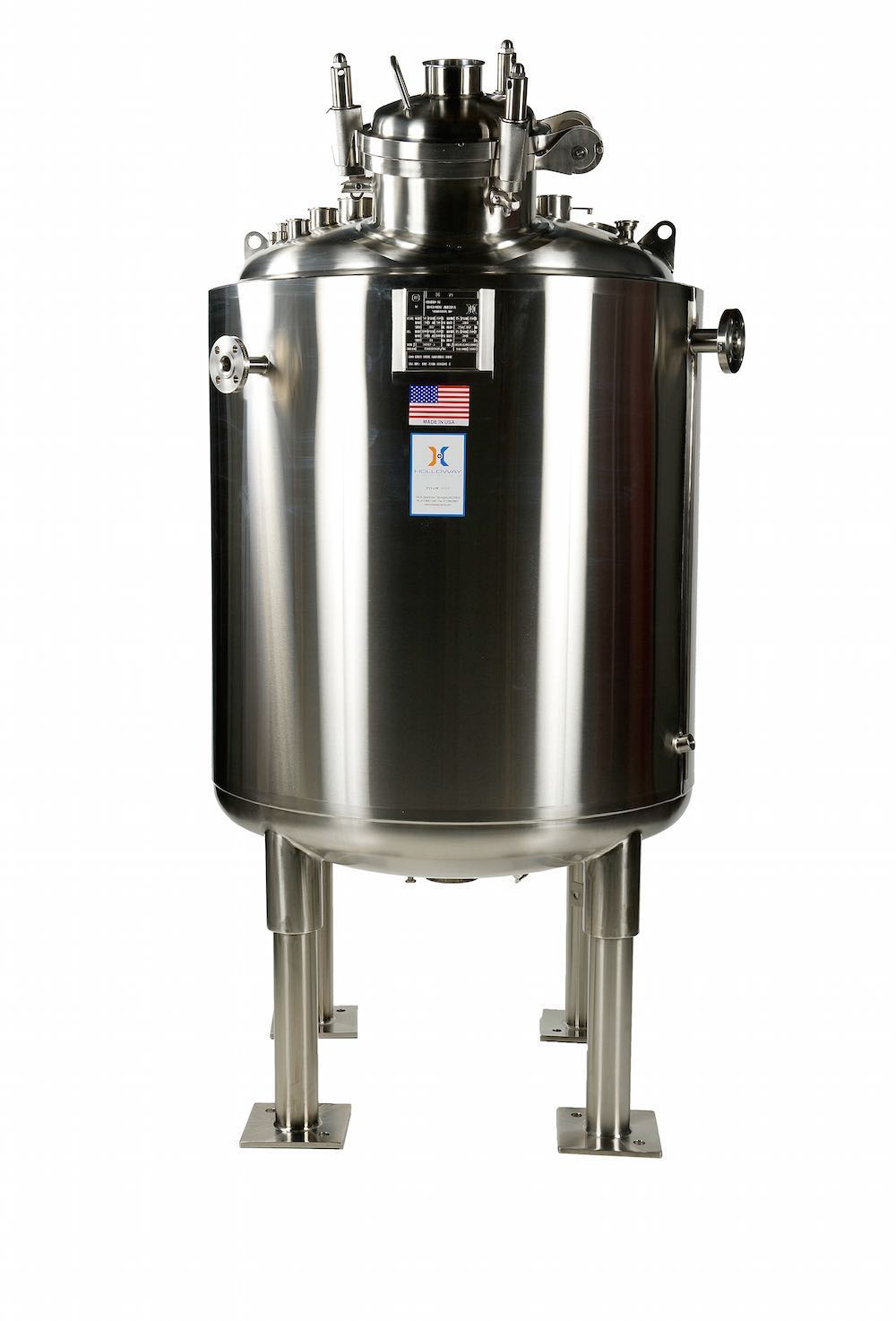 HOLLOWAY ASME pressure vessels are built to last.