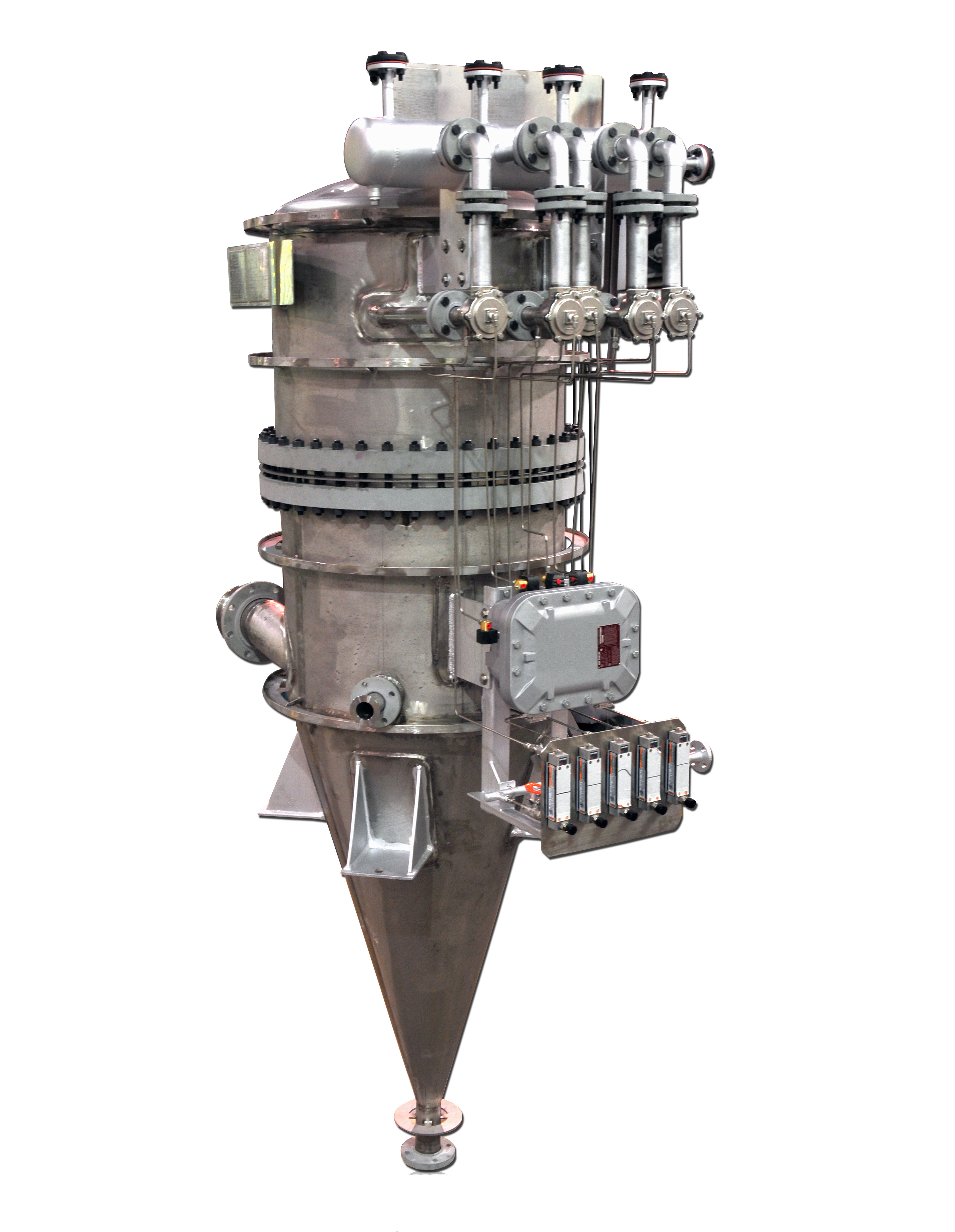 ASME pressure vessels by HOLLOWAY follow the stainless steel ASME code.