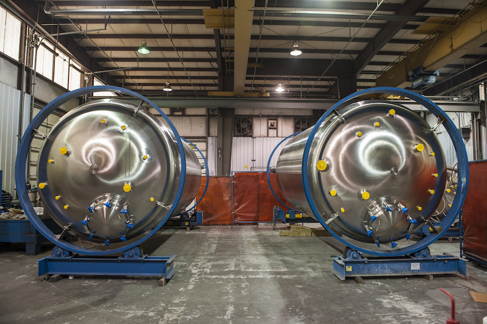 Even our large ASME mixer tank meets ASME pressure vessels requirements.