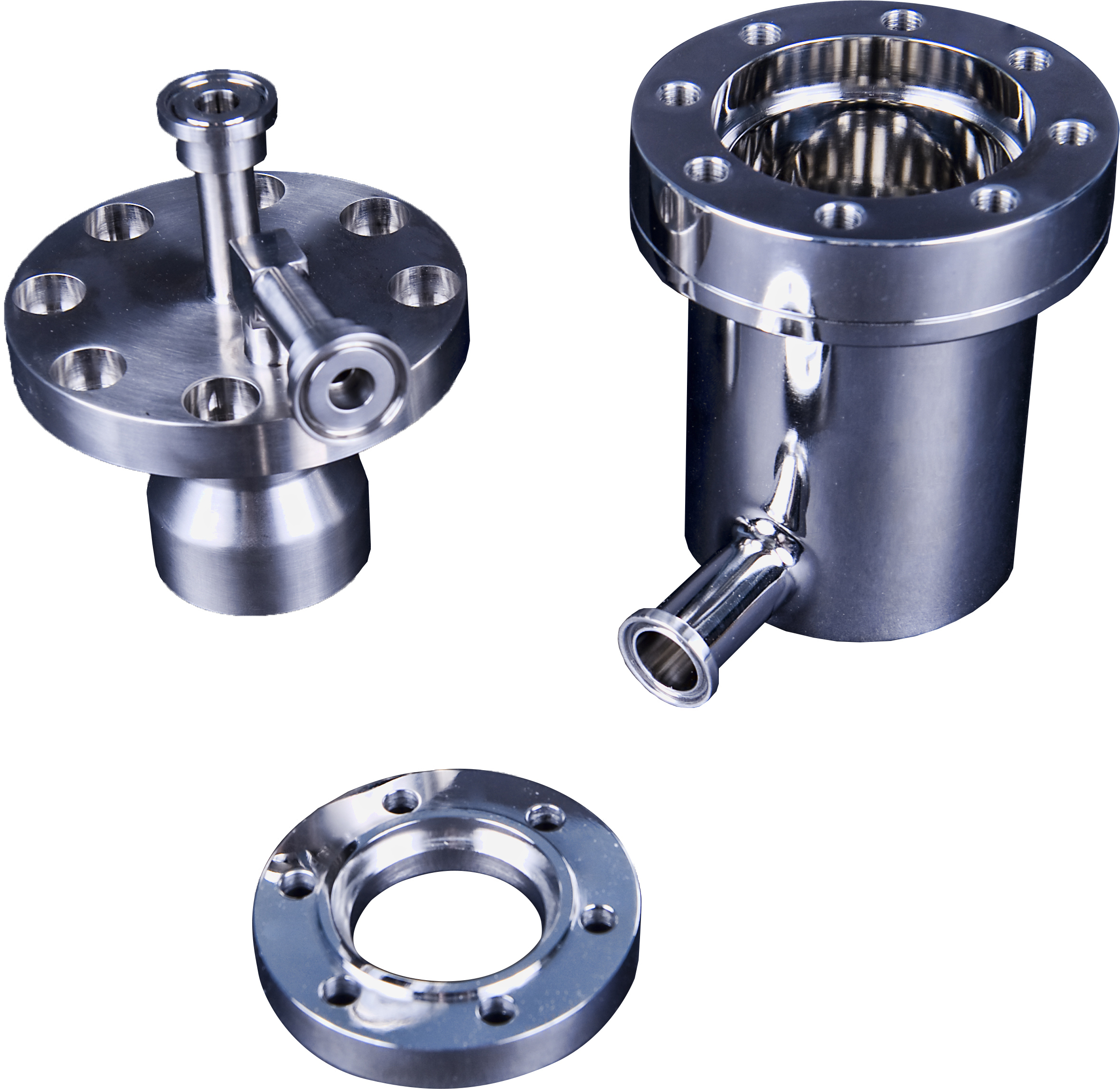 Our components for ASME stainless steel tanks are made to stainless steel ASME code requirements.