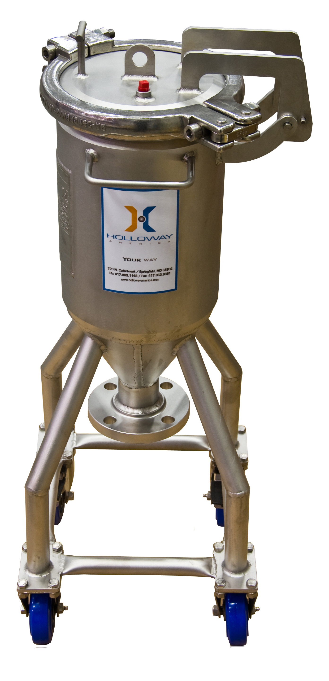 Meet the stainless steel ASME code with ASME pressure vessels by HOLLOWAY.