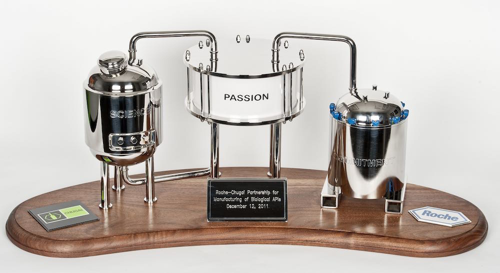 Even our trophy shows Holloway's pressure vessel engineering experience.