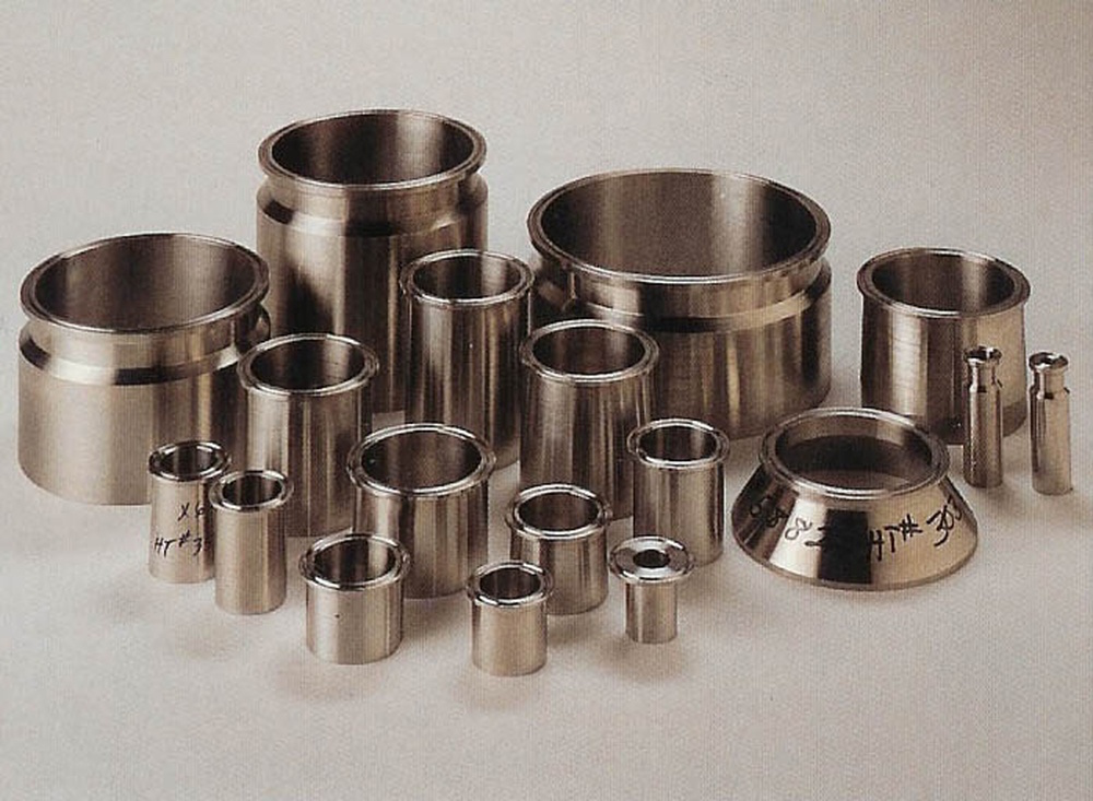 HOLLOWAY's tri-clamp fittings are shipped with material test reports.