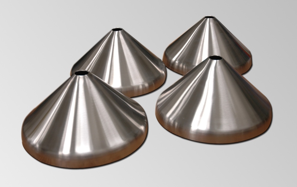 Our toriconical heads are high-quality stainless steel tank heads.