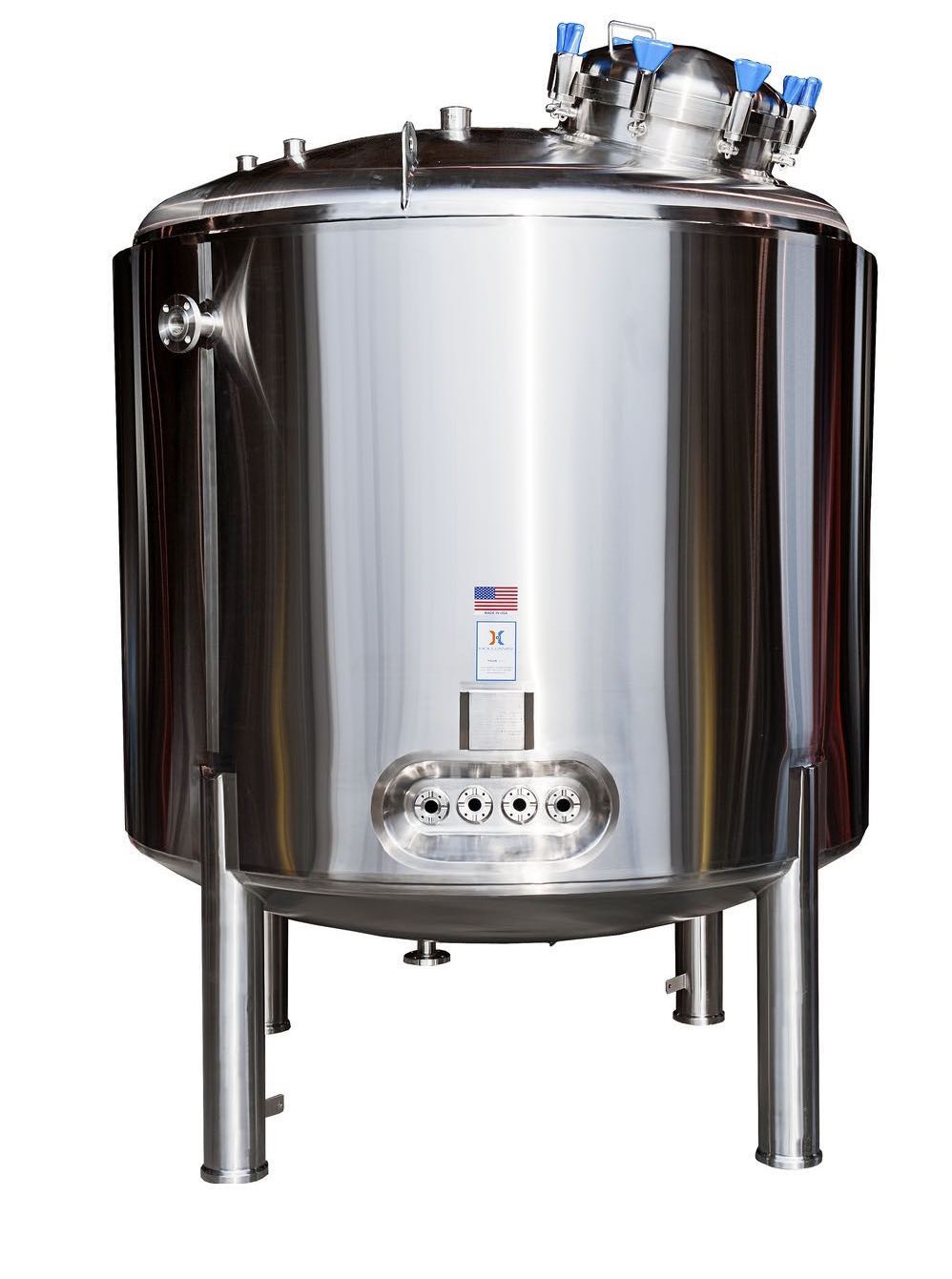 Sterile water for injections is safe in this WFI Tank by Holloway America.