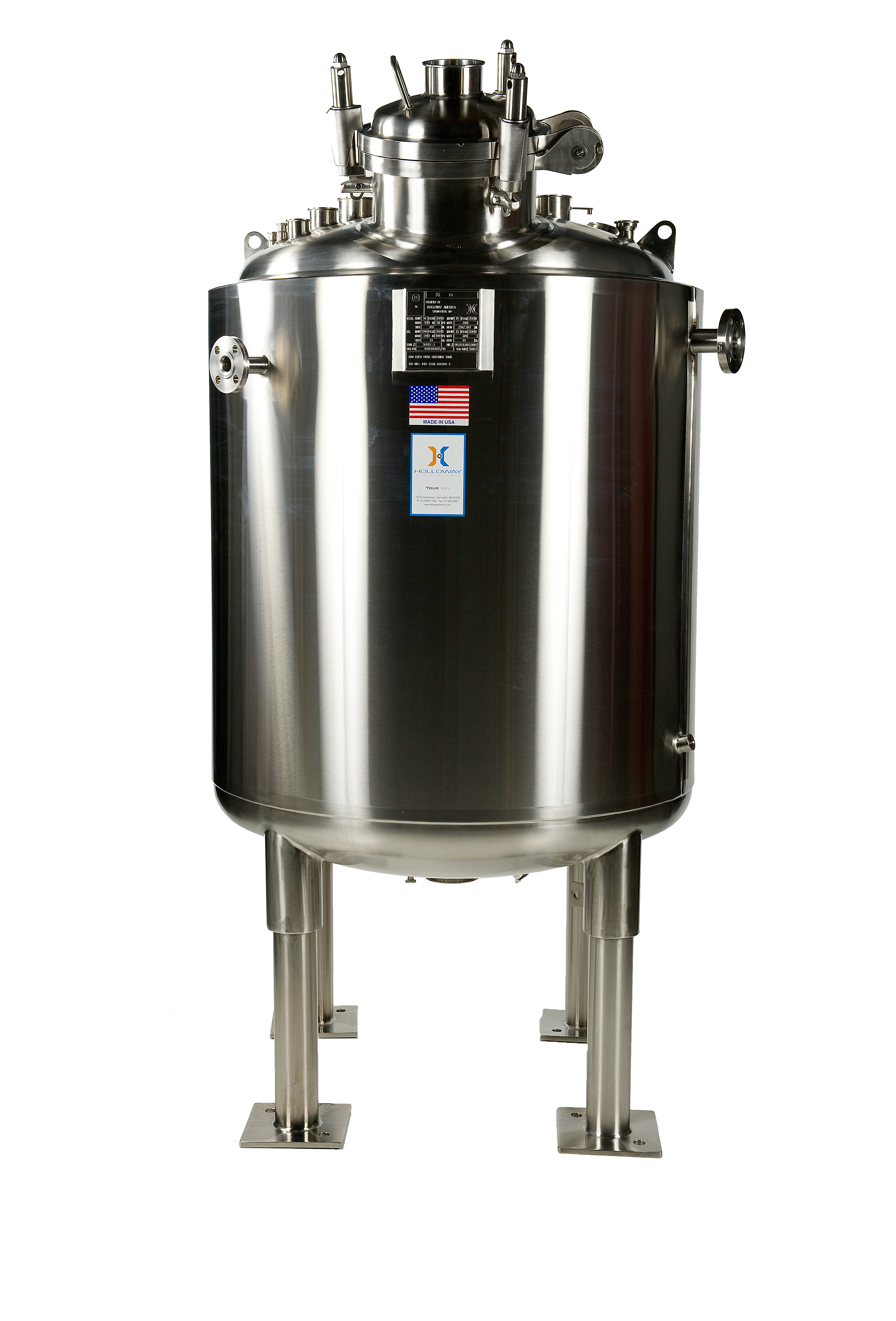 To store sterile water for injections, this WFI water tank is made to last.